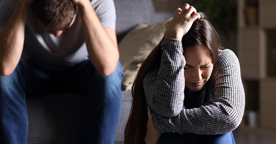 Schuldgefühle Nach Trennung überwinden